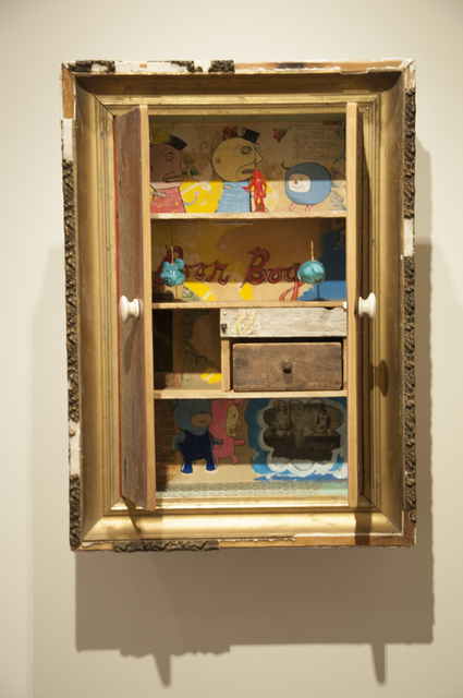 ", '""Poor Boy"" Cabinet,' 2017, Main Street Arts"