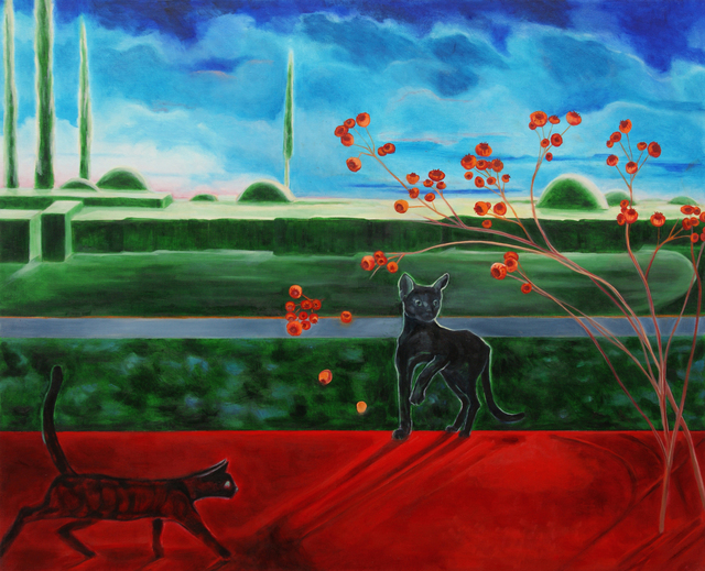 Katherine Pappas-Parks, 'One Moment Touching the Earth I ', Walter Wickiser Gallery