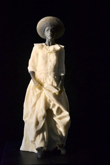 , 'Garbo Figure (figure holding dress),' 2018, Weinstein Hammons Gallery