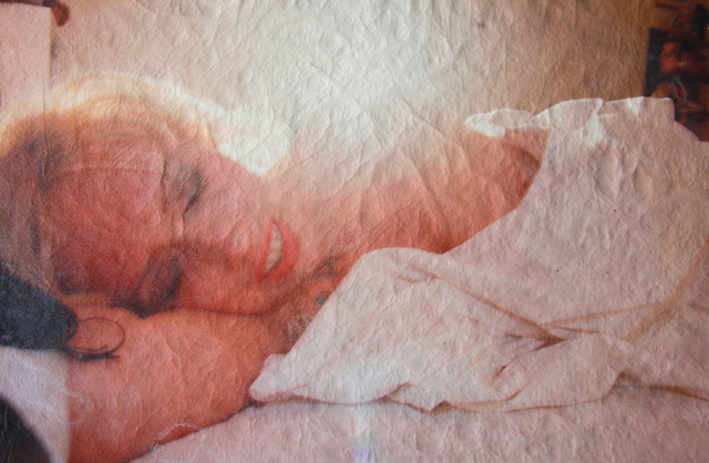 , 'White Leather Series: Tessa in bed, backlit,' 2015, Jo Shane + Maripol