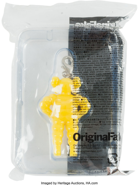 KAWS, 'Chum (Yellow), keychain', 2009, Other, Painted cast vinyl, Heritage Auctions
