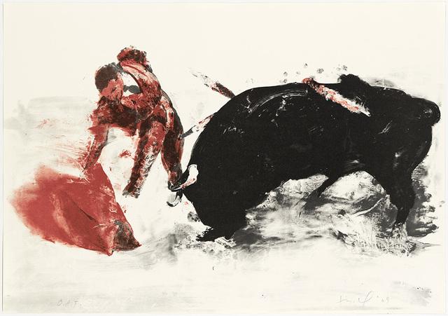 , 'Untitled (Bullfight 3),' 2009, Nikola Rukaj Gallery