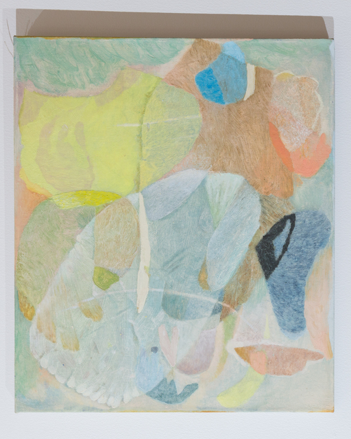 Clare Grill, 'Leaves', 2019, Painting, Oil on linen, Monica King Projects