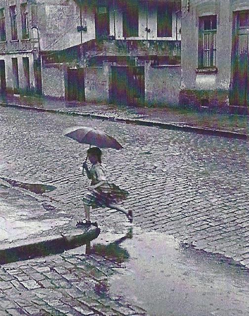, 'Menina en Chuva,' 1952/1980, RocioSantaCruz