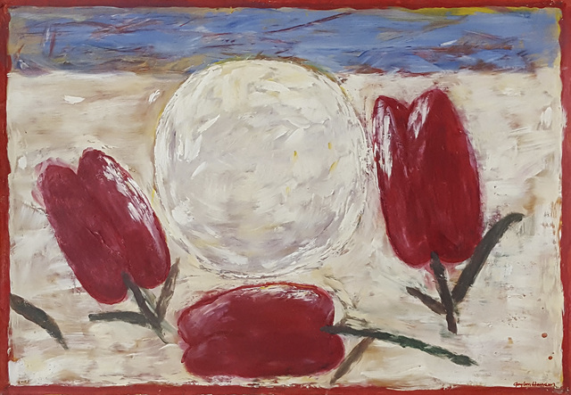 , 'Three Tulips and Sun,' 2001, Linda Hodges Gallery