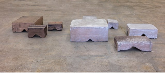 , 'Walking stools,' 2015, Gagosian