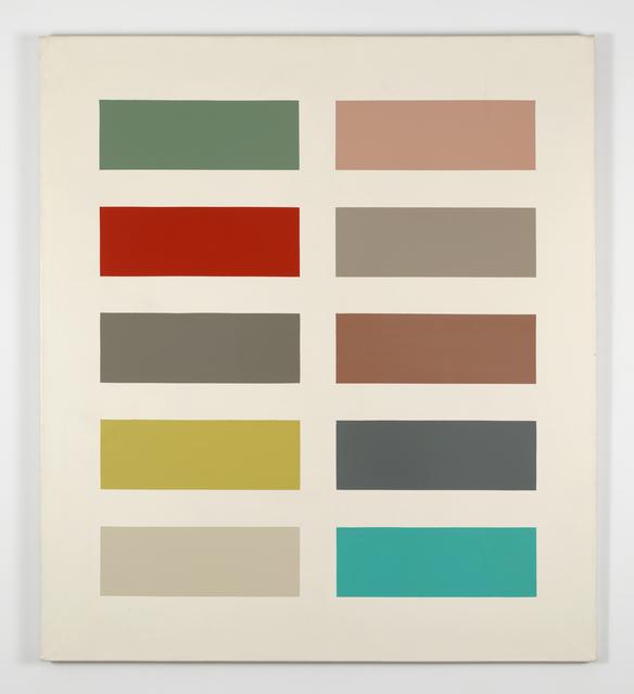 , 'Zehn Farben,' 1966, Lévy Gorvy