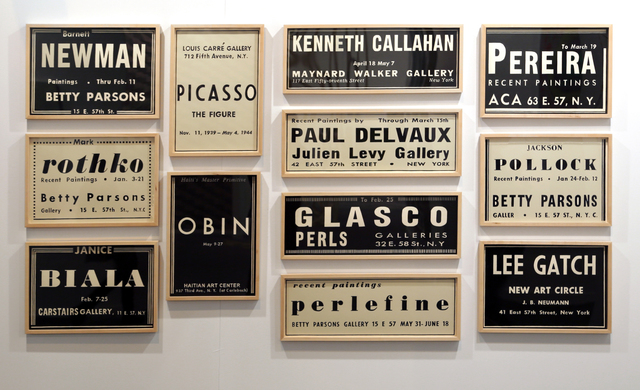 , 'ART NEWS 1949-I,,' 2016, Galería Joan Prats