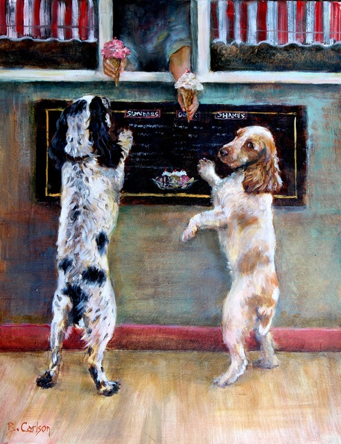 , 'Sprinkles, Please,' 2015, Dog & Horse Fine Art