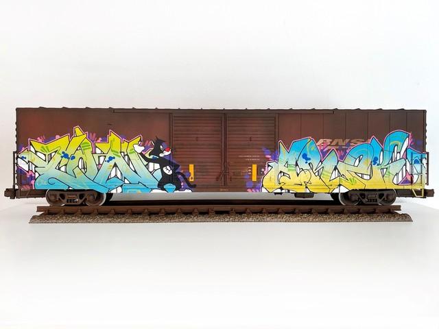 , 'BNSF #6,' 2019, Roman Fine Art