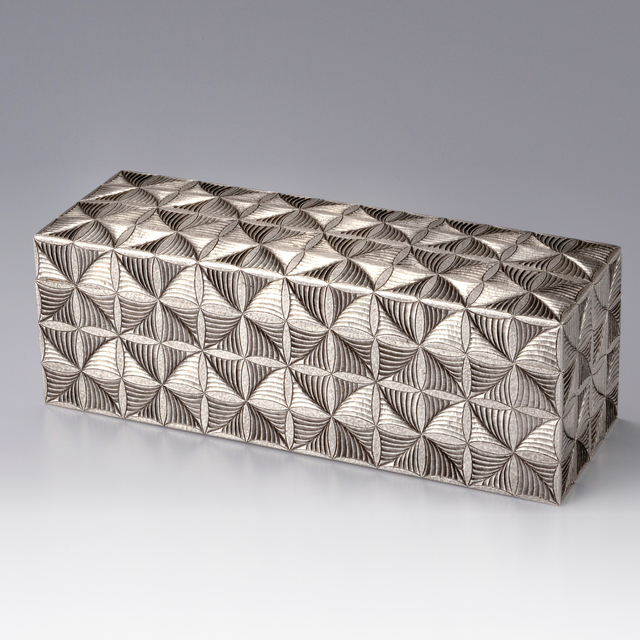 , 'Silver Box with Fern Patterns,' 2016, Onishi Gallery