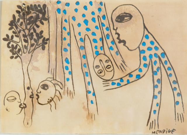 Manuel Mendive, 'Untitled', 1987, Latin Art Core