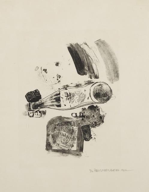 Robert Rauschenberg, 'Merger (Foster 5)', 1962, Sotheby's