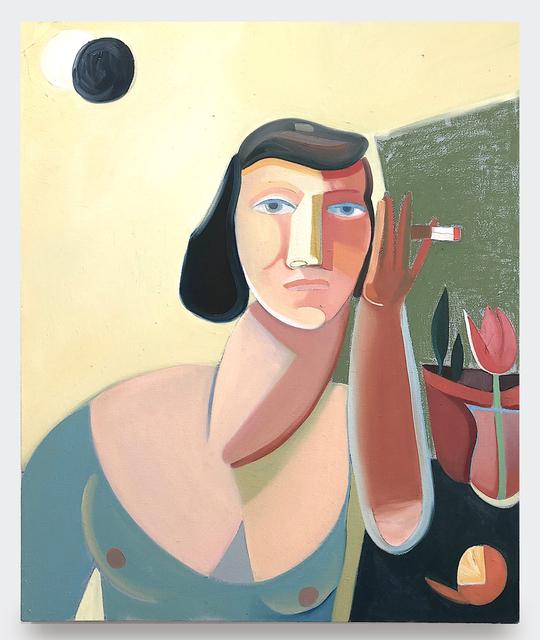 , 'Garden Eclipse With Clementine,' 2019, V1 Gallery