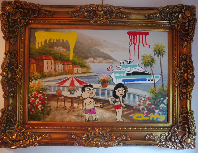 , 'Took Your Girl to St. Barth,' 2016, Arcature & Perry J. Cohen Foundation