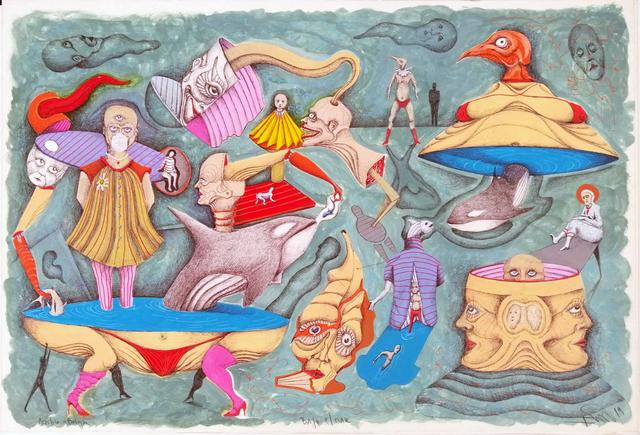 , 'Bellow, the sea,' 2019, Perve Galeria
