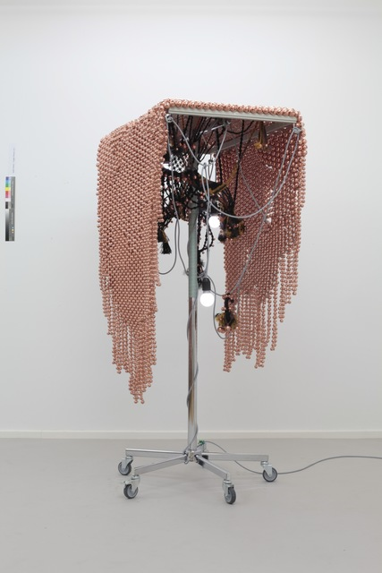 , 'Sonic Fabric over Copper Plated Web ,' 2014, Kukje Gallery