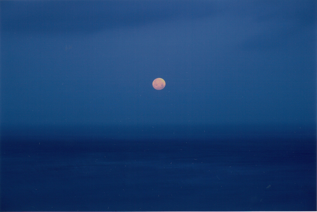 , 'Palos Verdes, CA  from the 'Watching the Moon' works,' 2013, ROSEGALLERY