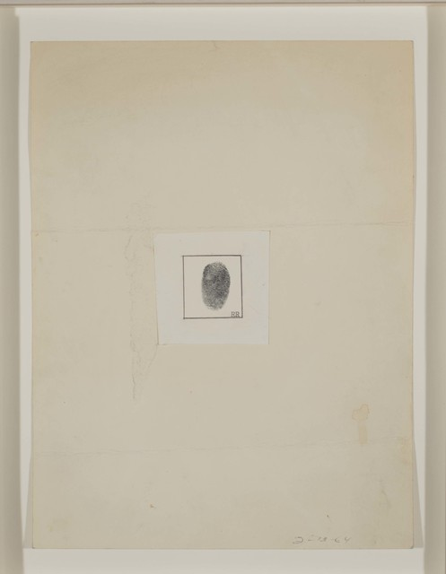 Robert Rauschenberg, 'Self-Portait [for The New Yorker profile]', 1964, Ink and graphite on paper, Robert Rauschenberg Foundation