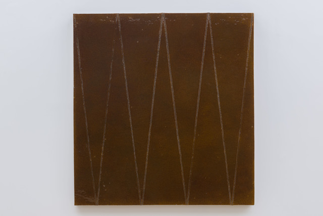 , 'With one brush stroke, she crosses it out,' 2014, Simon Lee Gallery