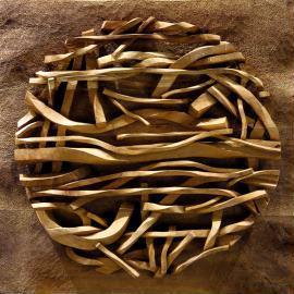 Zhou Ning, 'Nature - 1', 2016, Sculpture, Apple tree wood, NO 55 ART SPACE