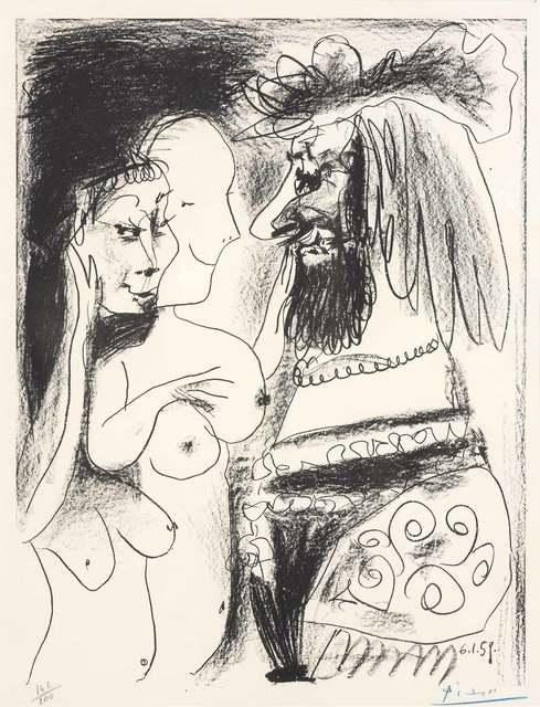 Pablo Picasso, 'LE VIEUX ROI (B. 869)', 1959, Doyle