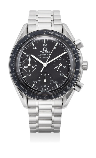 OMEGA, 'A fine stainless steel automatic chronograph wristwatch with bracelet', Circa 1998, Phillips