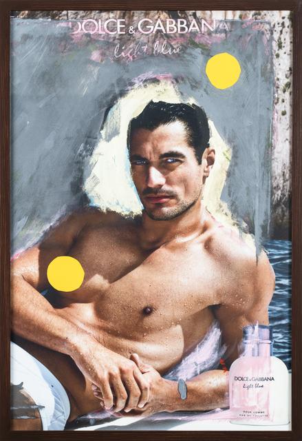 Grace Ndiritu, 'D&G David Gandy Yellow Spot', 2015-2018, Inda Gallery