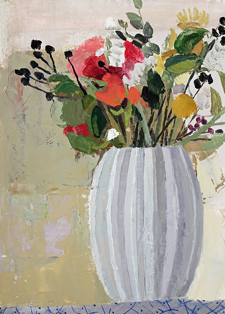 , 'Still Life with Flowers (#2),' 2015, Thomas Deans Fine Art