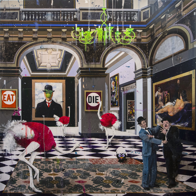 Angelo Accardi, 'Meet Stanlio & Ollio', 2019, Eden Fine Art