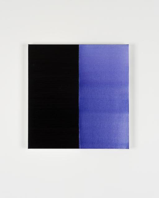 Callum Innes, 'Untitled Lamp Black No 3', 2019, i8 Gallery
