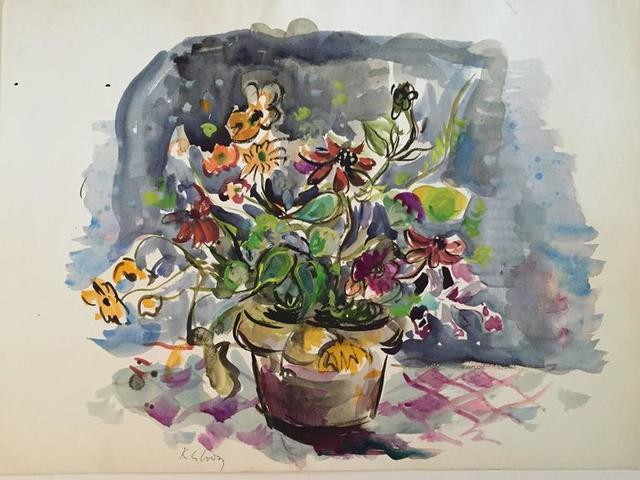 Katherine Librowicz, 'Flowers in a Pot', 20th Century, Lions Gallery