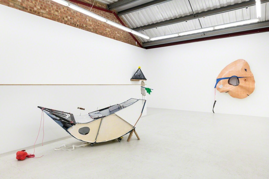 Installation view of Yarli Allison 'Cacotopia 02' at Annka Kultys Gallery, London 2018. Photo: Annka Kultys Gallery (Damian Griffiths)
