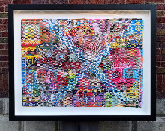 , 'X-Marks the Spot,' 2018, Mason-Nordgauer Fine Arts Gallery