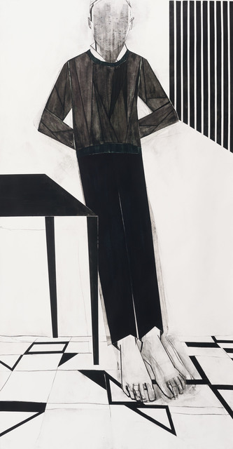 Iris Schomaker, 'Untitled (Leaning Against the Wall)', 2018, Alex Daniels - Reflex Amsterdam