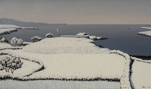, 'Winter of JeJu(제주의 겨울),' 2017, Galerie Bhak
