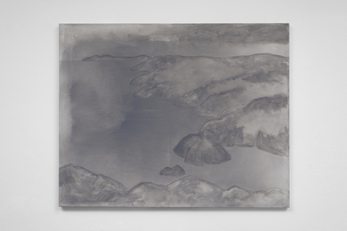 Silke Otto-Knapp, 'View From Round Head (Grey),' 2015, LAXART: Benefit Auction 2017