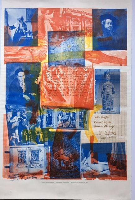 , 'Centennial Certificate (Hand Signed),' 1970, Alpha 137 Gallery