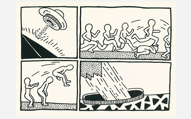 Keith Haring, 'Untitled, from The Blueprint Drawings', 1990, Kings Wood Art