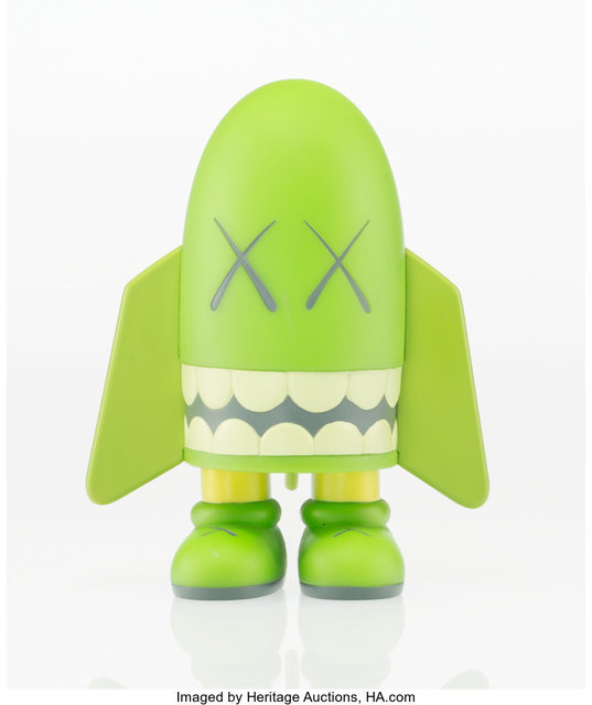 KAWS, 'Blitz (Green)', 2004, Sculpture, Painted cast vinyl, Heritage Auctions