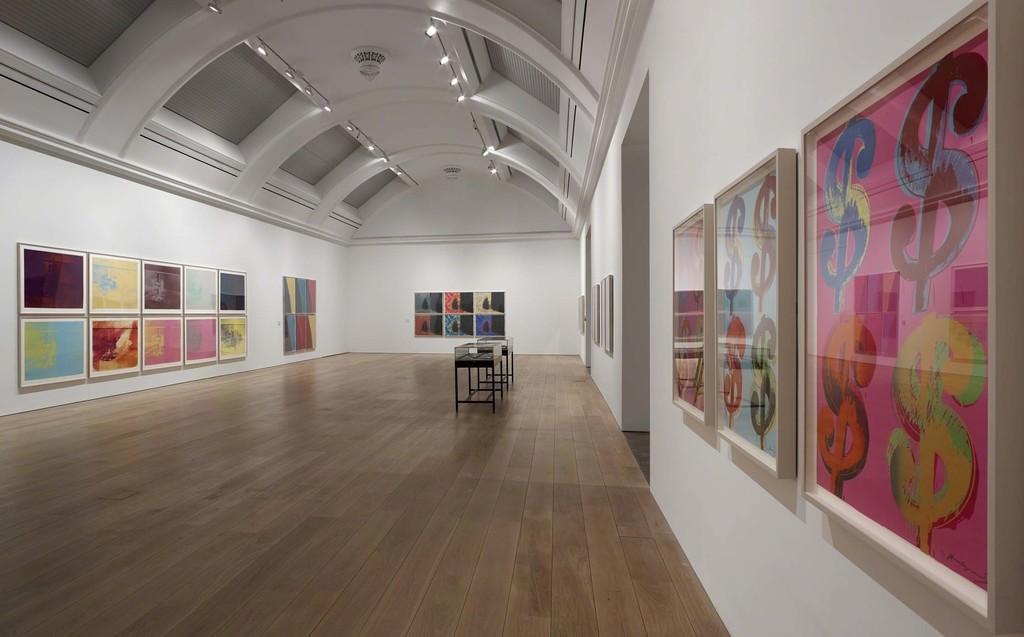 """ARTIST ROOMS Andy Warhol,"" Whitworth. Photo: Michael Pollard"