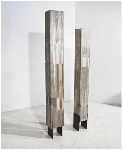 , 'Two Columns,' 2013, CYNTHIA-REEVES