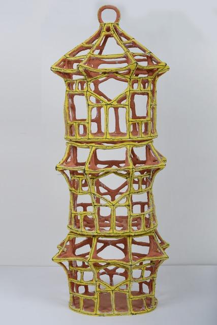 , 'Large Yellow Pavilion Birdcage,' 2014, REGINA REX
