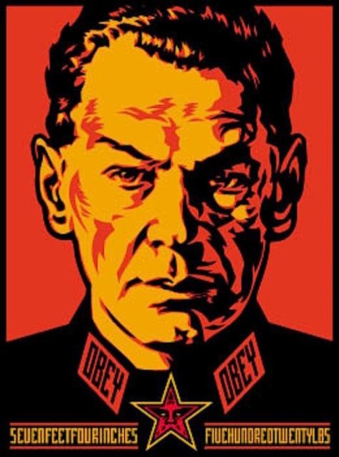Shepard Fairey (OBEY), 'Authoritarian', 2000, Gregg Shienbaum Fine Art
