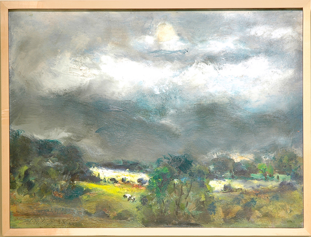 , 'Storm over the Susquehanna ,' 2003, C. Grimaldis Gallery