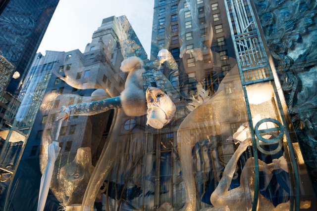 , '58th and 5th (II),' 2014, Lawrence Fine Art