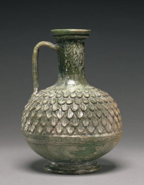 'Lead-Glazed Jug',  50 B.C. -A.D. 50, J. Paul Getty Museum