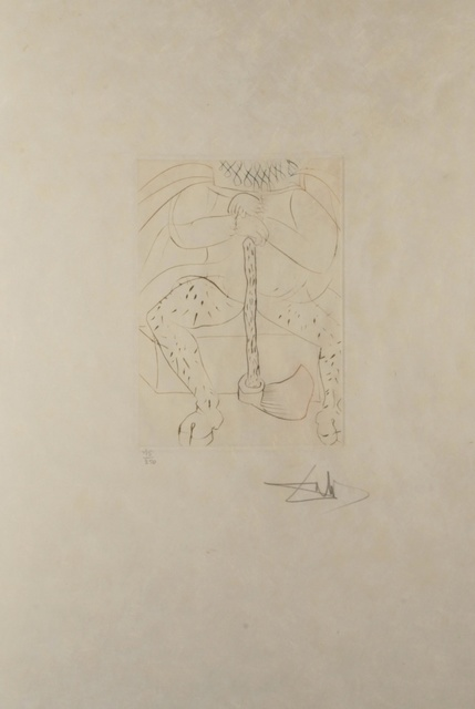 Salvador Dalí, 'Shakespeare II Henry VIII', 1971, Print, Etching, Fine Art Acquisitions Dali