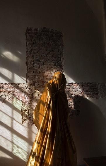 , 'Gold, Oude Kerk Amsterdam,' 2016, Marian Cramer Projects