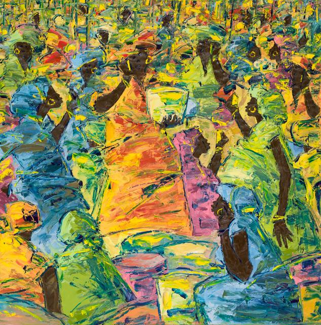 Ablade Glover, 'Profiles II', 2019, October Gallery